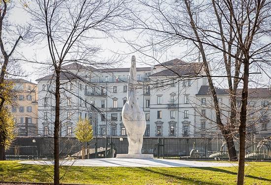 Il Seme dell'Altissimo di Emilio Isgrò trova casa negli spazi adiacenti alla Tri [..] - Comunicati Stampa